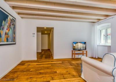 Living room, con TV satellitare e Wi-Fi.